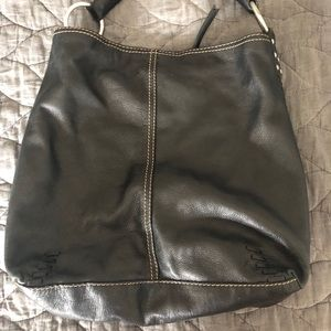 Lucky Brand black leather bag